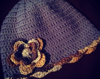 Crochet Hats - beanies/newsboys