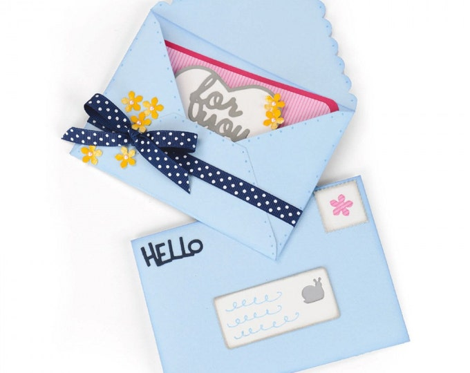 Sizzix Framelits Plus Die Set 20PK - Envelope, Mini 661125