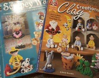 Clay Books Lot of 2