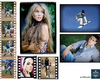 Digital Photo Frames and Borders