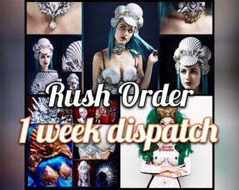 RUSH ORDER - Dispatch within 7 days of purchase