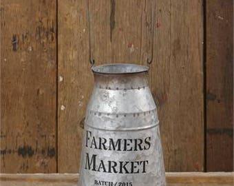 Farmers Market Milk Can~Farmhouse Decor
