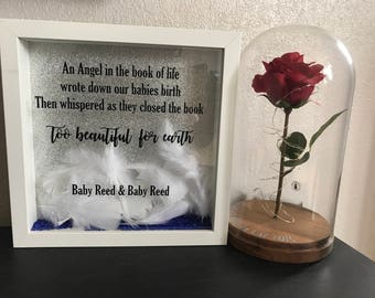 Baby Remembrance Box Frame