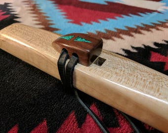 Tiger Maple Medicine Flute