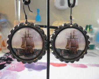 Sailing Across the Open Seas Earrings