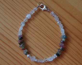 Tourmaline and Moonstone Bracelet