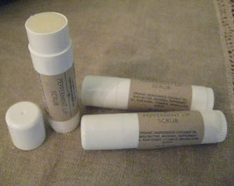 Organic Peppermint Sugar Lip Scrub   Exfoliator