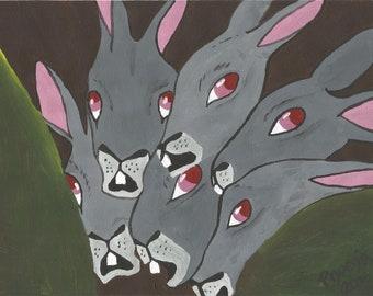 Scared Bunnies, Watershipdown