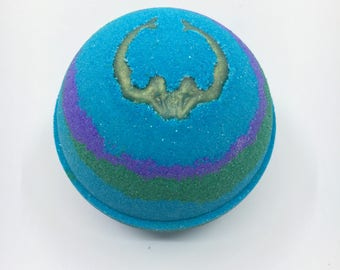 Mermaid Kisses Bath Bomb WITH a Charm Inside!