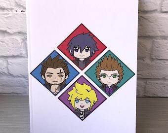 Final Fantasy XV FFXV Chocobro Notebook Sketchbook