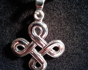 Sterling Silver Celtic Knot Charm #1109