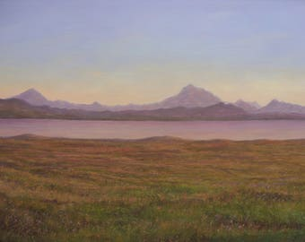 Isle of Skye ...The Cuillin at sunset...Sligachan   Oil Painting