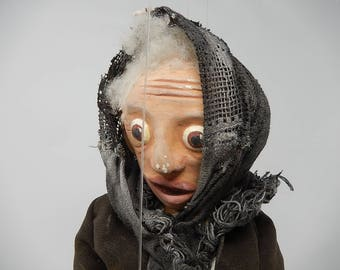 Old Puppet The Mamie, People, Nice Carnival, creating early 1900, free shipping!