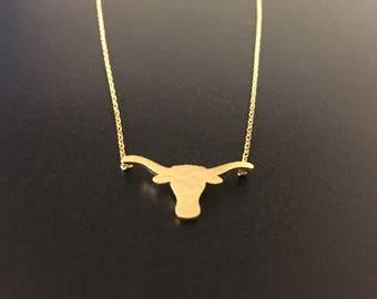 Longhorn Necklace