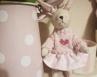 OOAK handmade Bunny Rabbit