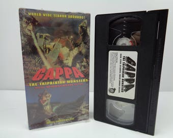 Gappa the Triphibian Monsters VHS Tape