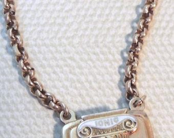 KREMENTZ gold filled Masonic IONIC Tie Bar