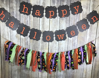 Halloween Garland, Halloween Decor, Halloween Decoration, Halloween Banner, Halloween Banner set, Halloween Party Decoration,