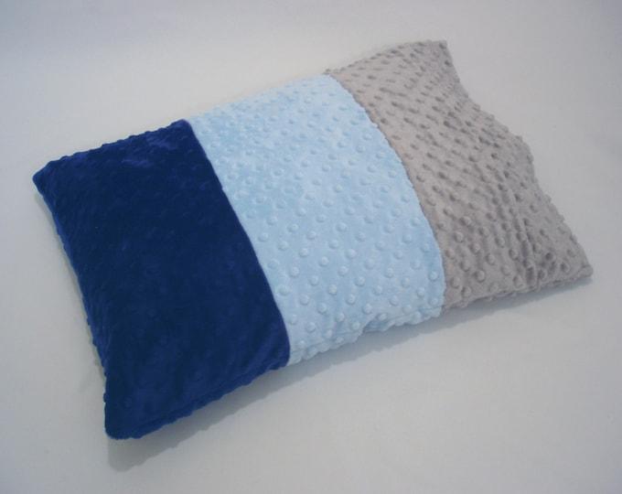 Pillowcase Toddler Blue Gray Ombre