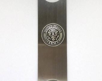 Army Bottle Opener - Metallic