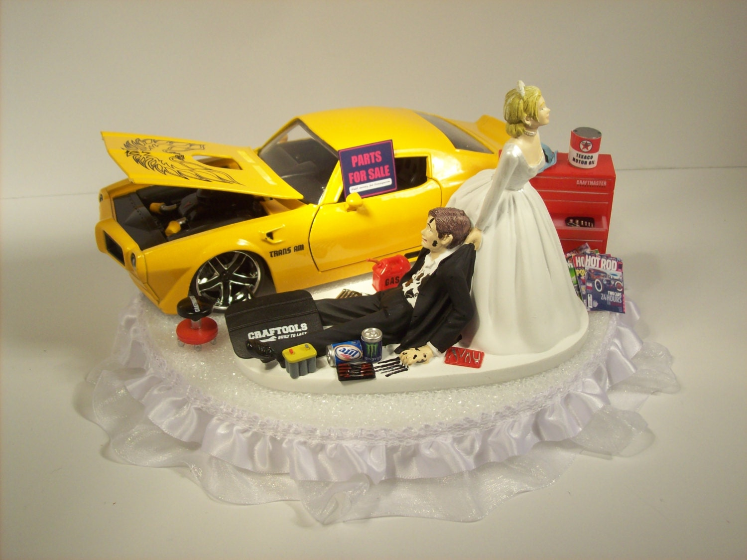 Car Guy Wedding Cake Toppers - 5000+ Simple Wedding Cakes