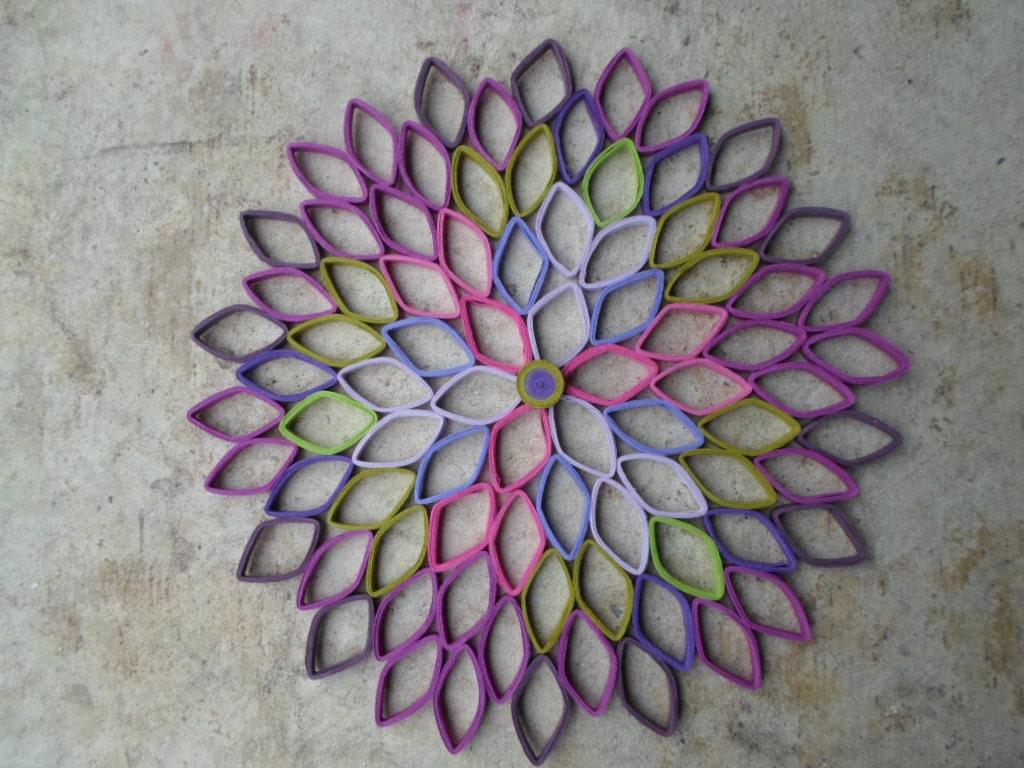 Paper Flower Wall Hanging Vatozozdevelopment