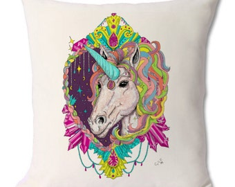 Unicorn cushion / decorative pillow