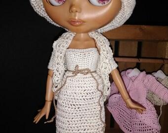 Blythe Crochet Heirloom Lacy Shrug Made to Order
