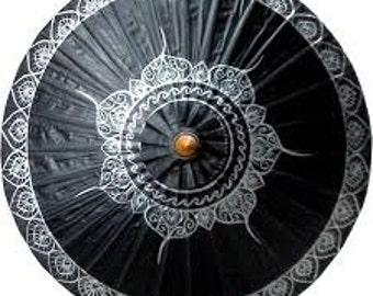 Black Lotus parasol