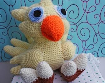 Livraison internationale gratuite modèle - Crochet Chocobo-