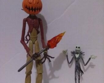 Nightmare Before Christmas Figurine Action Figure Toys Jack Skellington Pumpkin King