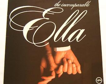 Ella Fitzgerald LP Vinyl Record Album The Incomparable Ella 1980 compilation best of greatest hits