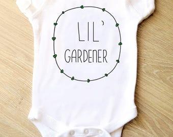 Lil' Gardener Onesie
