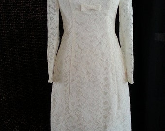 Sweet Short Vintage Wedding Dress