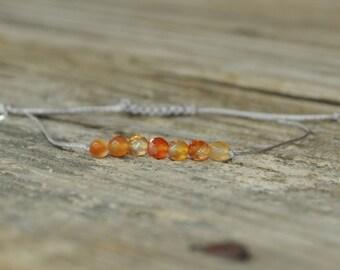 Sacral Chakra, Carnelian, Second Chakra, Gemstone Therapy, Yoga Bracelet, Meditation Bracelet, Reiki, Fertility, Creativity