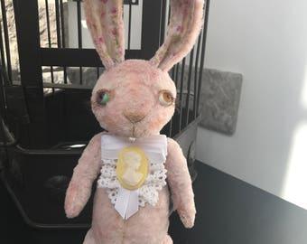 Teddy bear bunny ooak artistry