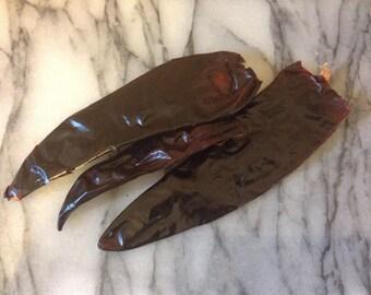 Dried guajillo chilli, chile
