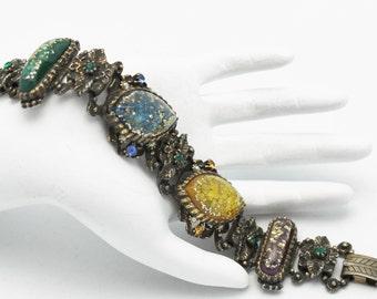 Selro Armband Vintage Konfetti Cabochons