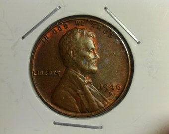 1946-D Lincoln Wheat Cent - Nice Details