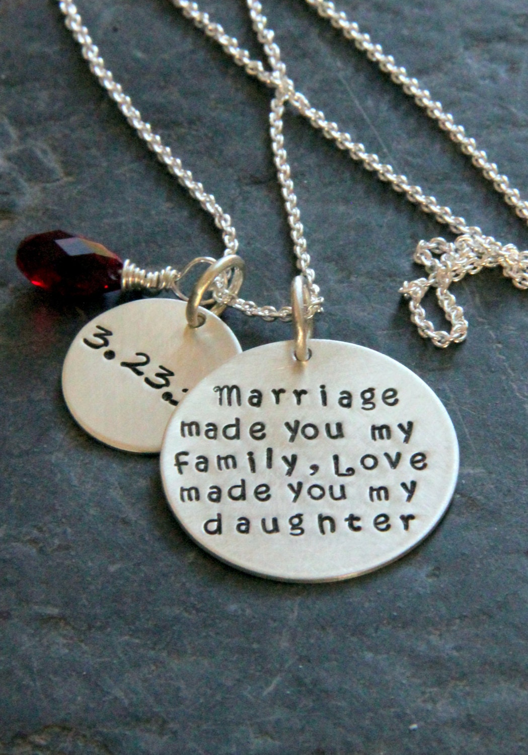 Gift For Daughter In Law Marriage Made You My Family Gift