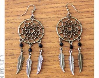 Kit - Dreamcatcher earrings