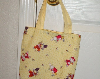 Small Easter Tote-Bunny Tote (Bag 20)