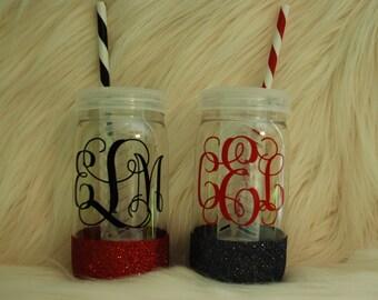 Fruit Infuser Tumbler~ water-teacher gift-fruit infuser-gift for friend-mason jar-glitter jar-gift for teacher-end of the year-GLitterWare