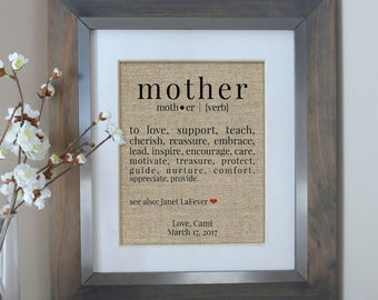 Mother Daughter Gift From Daughter | Mothers Day Sign Gift for Mom Gift from Son | Gifts for Mom | Gifts for Mom | Personalized Gift for Mom