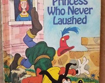 The Princess Who Never Laughed Goofy Disney's Wonderful World of Reading Hardcover