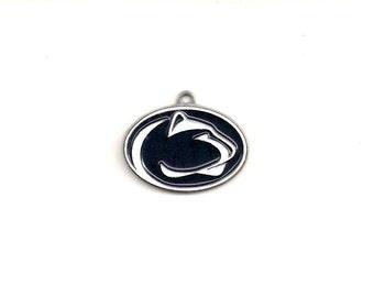 NCAA: Pennsylvania State University Nittany Lions, 25x18 mm, College Charm, Penn State Charm, NCA005
