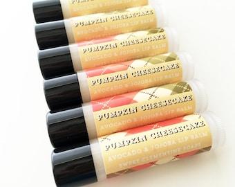 Lip Balm, Pumpkin Cheesecake Lip Balm, Pumpkin Lip Balm, Cheesecake Lip Balm, Fall Lip Balm, Autumn Lip Balm