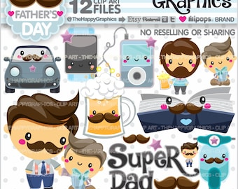 Father Clipart, 80%OFF, Father Graphic, COMMERCIAL USE, Planner Accessories, Father's Day Clipart, Daddy Clipart, Father Clip Art