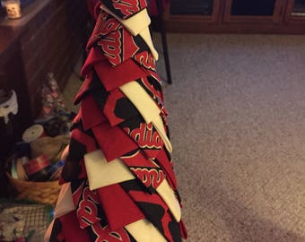 Cleveland Indians Quilt Tree