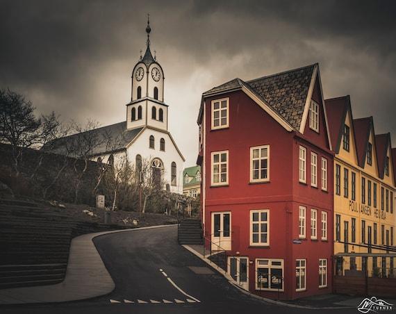 Havnar Kirkja, Tórshavn [Photographic Print]